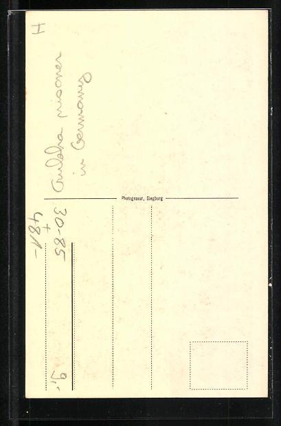 AK Münster, britischer Gurkasse im Gefangenenlager 1916, Völkertype Nr. 45 1