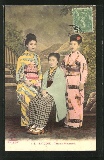 AK Saigon, Trio de Mousmèes, Geishas 0