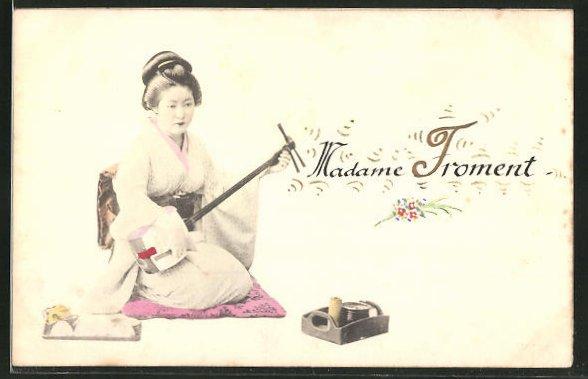 AK Madame Froment, Geisha 0