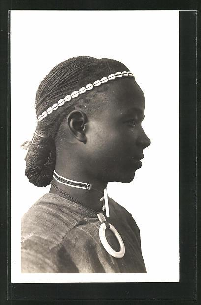 AK Hte-Volta, Homme Kado, afrikanischer Mann mit Flechtfrisur