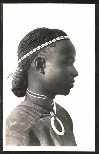 AK Hte-Volta, Homme Kado, afrikanischer Mann mit Kopfschmuck 0