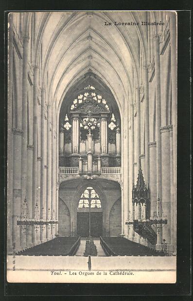 AK Toul, Les Orgues de la Cathédrale, Orgel 0