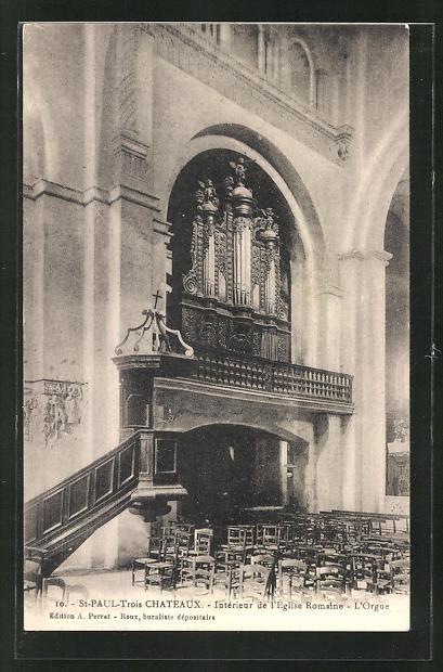 AK St. Paul-Trois Chateaux, L' Orgue, Orgel 0