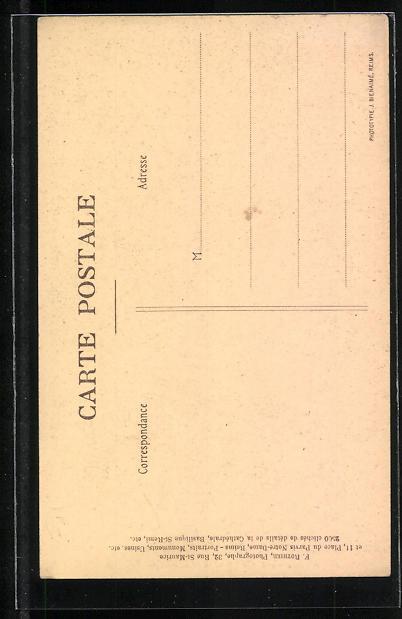 AK Reims, La Cathèdrale - Grand Orgue, Orgel 1