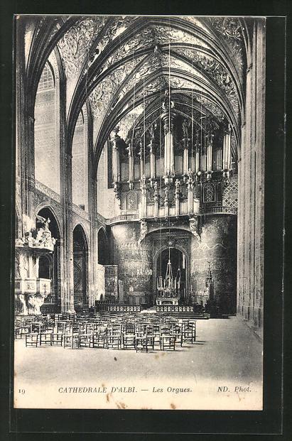 AK Cathedrale D' Albi - Les Orgues, Orgel 0