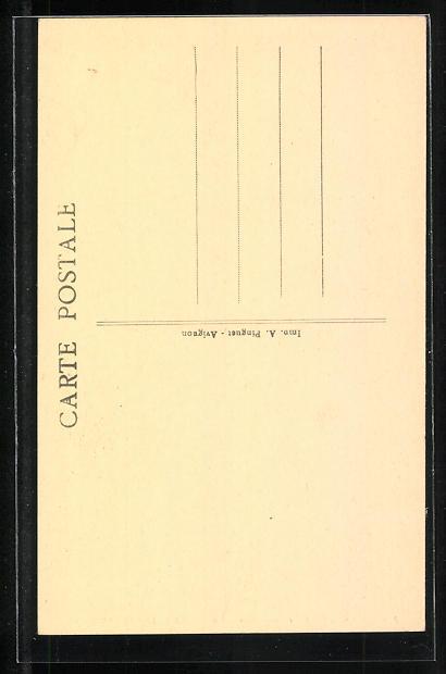 AK Avignon - N.-D. des Doms, Le Grand Orgue, Orgel 1