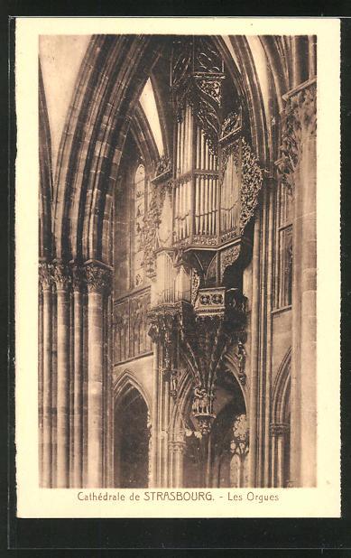AK Cathèdrale de Strasbourg, Les Orgues, Orgel
