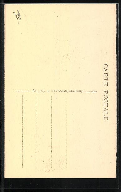 AK Cathèdrale de Strasbourg, Les Orgues, Orgel 1