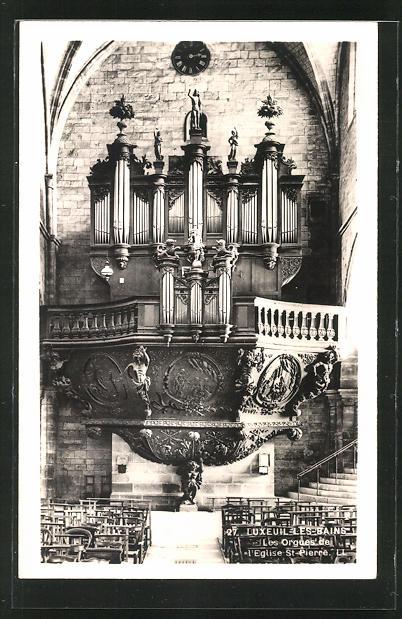 AK Luxeuil-les Bains, Les Orgues de L 'Eglise St. Pierre, Orgel