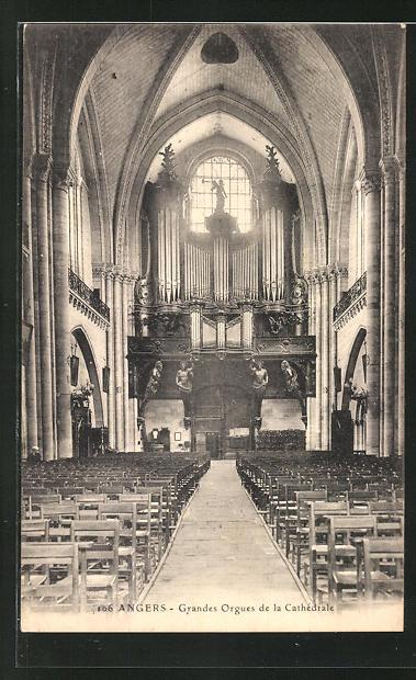 AK Angers, Gyandes Orgues de la cathèdrale, Orgel