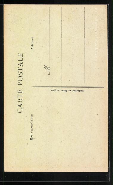 AK Angers, Gyandes Orgues de la cathèdrale, Orgel 1