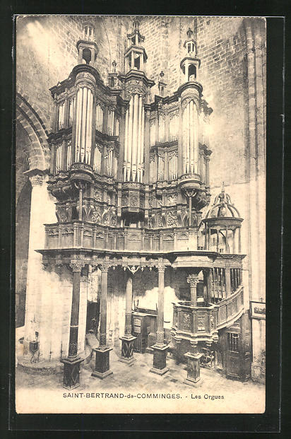 AK Saint Bertrand-de-Comminges -Les Orgues, Orgel