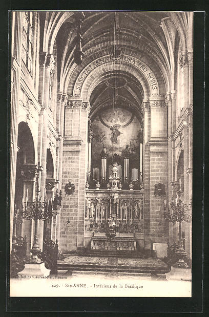 AK Ste Anne, Intèrieur de la Basilque, Orgel 0
