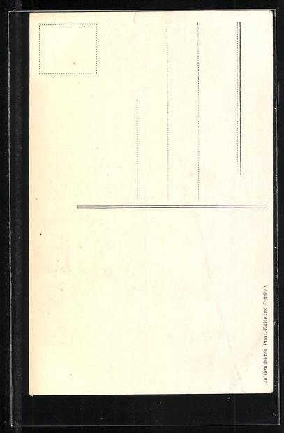 AK Genève, Cathèdrale de St. Pierre, Orgel 1