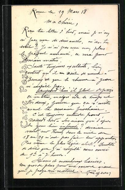 AK Rouen, Cathèdrale-Interieur, les Orgues, Orgel 1