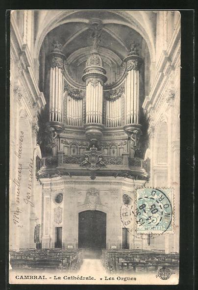 AK Cambrai, Le Cathèdrale-Les Orgues, Orgel 0