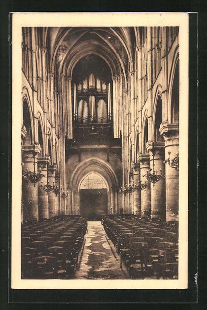 AK Lisieux, Cathèdrale Saint Pierre les Orgues, Orgel