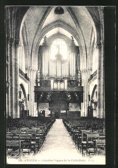 AK Angers, Grandes Orgues de la Cathèdrale, Orgel