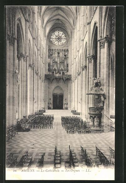 AK Amiens, La Cathèdrale-Les Orgues, Orgel 0