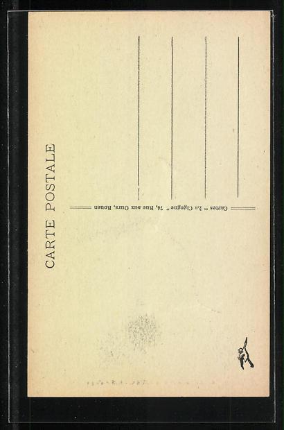 AK Rouen, La Cathèdrale-Buffet d' orgus, Orgel 1