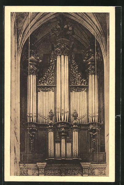 AK Gisors, L' Eglise-Les Orgues, Orgel 0