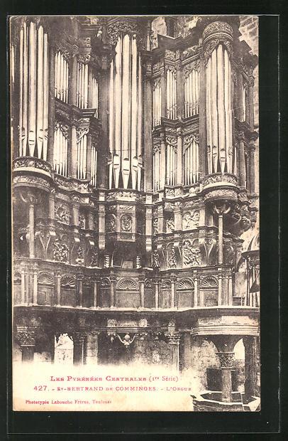 AK St. Bertrand de Comminges, L_ Orgue, Orgel 0