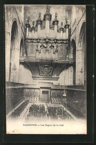 AK Narbonne, Les Orgues de St. Just, Orgel 0