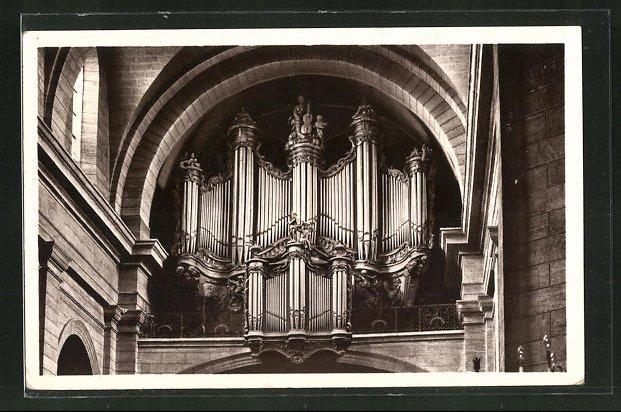 AK Pezenas, Collegiale de Saint-Jean, Orgues, die Orgel 0