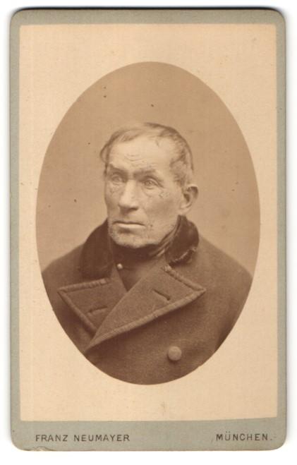 Fotografie Franz Neumayer, München, Portrait betagter Herr