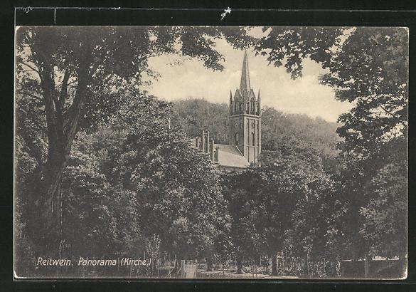 AK Reitwein, Blick zur Kirche