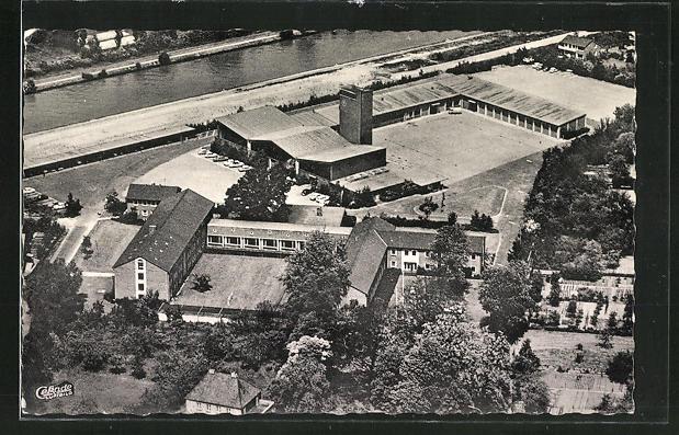 AK Münster, Fliegeraufnahme der Landesfeuerwehrschule 0