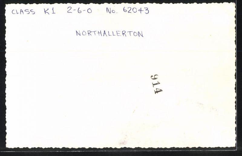 Fotografie Fotograf unbekannt, Ansicht Northallerton, Eisenbahn England, Dampflok Class K1, Lok-Nr.: 62043 1