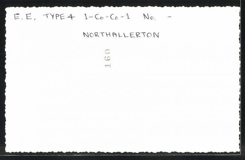 Fotografie Fotograf unbekannt, Ansicht Northallerton, Diesel-Lok Type 4, Güterzug, Eisenbahn England 1
