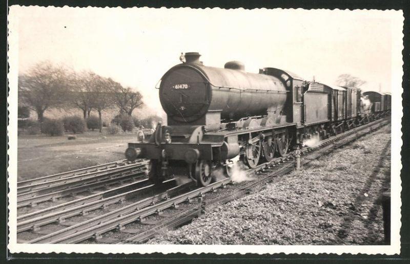 Fotografie Fotograf unbekannt, Ansicht Northallerton, Dampflok Class B16, Lok-Nr.: 61470, Eisenbahn England