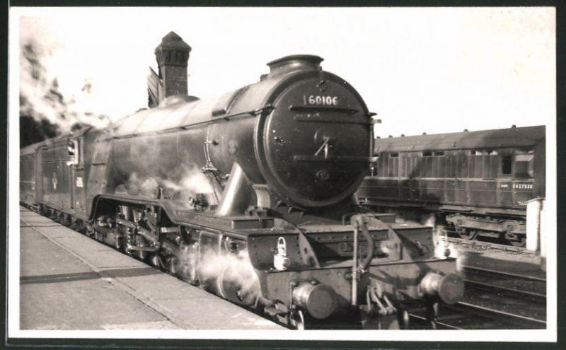Fotografie Fotograf unbekannt, Ansicht Darlington, Dampflok Class A3
