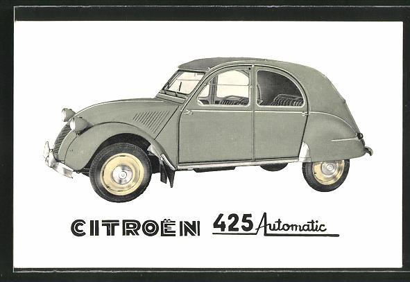 AK Auto Citroen 425 Automatic in grau 0