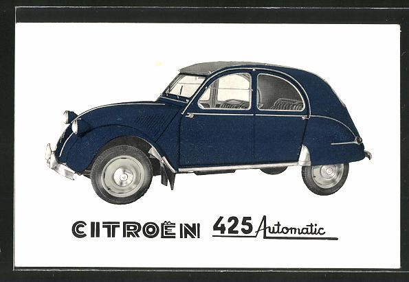AK Auto Citroen 425 Automatic in blau