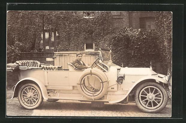 AK Peugeot 1912, Karosse von den Plas