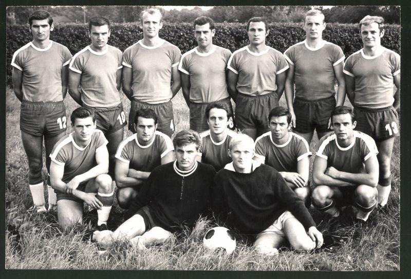 Fotografie Fussball-Verein BSG Chemie Leipzig, Mannschaftsfoto 0