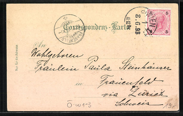 Lithographie Wien, Friedrich Kargl's Gasthof