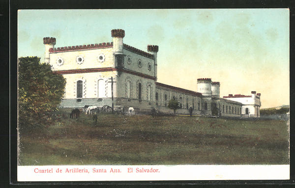 AK Santa Ana, Cuartel de Artilleria 0