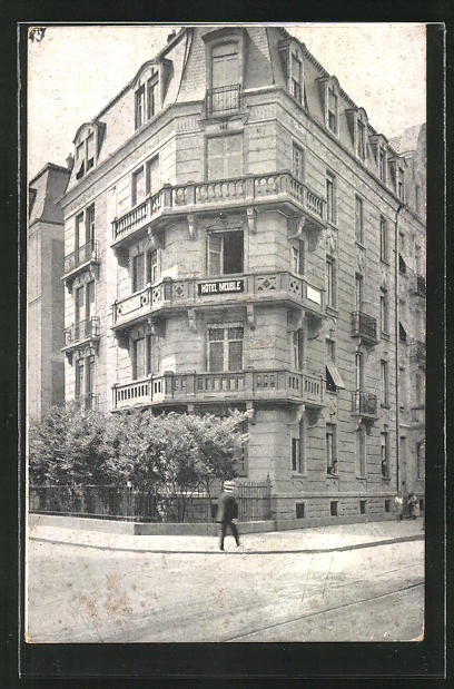 AK Mulhouse, Hotel Meublé, 25 Rue Scheurer-Kestner 0
