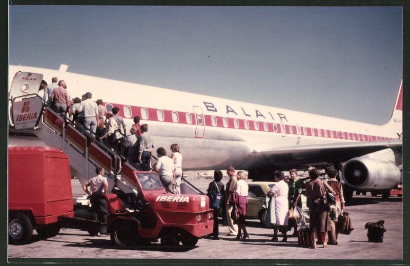 Fotografie Flugzeug, Passagierflugzeug der IBERIA-BALAIR 0