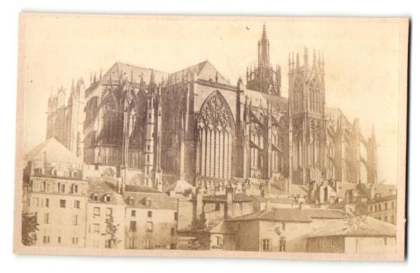 Fotografie unbekannter Fotograf, Ansicht Metz, Kathedrale