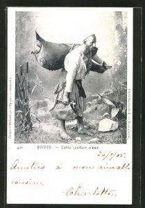 AK Sakka, porteur d'eau, arabischer Wasserträger