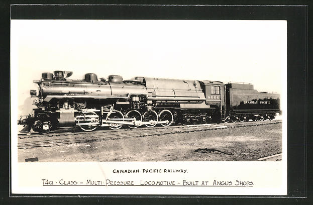 AK Canadian Pacific Railway, Angus Shops Locomotive Type T4a No. 8000
