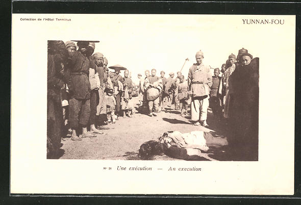 Präge-AK Yumman-Fou, Une execution, An execution, Jura