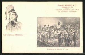 AK Le Général Marceau, Funérailles de Marceau, 1796