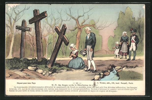 AK N. -D. des Anges apres la Revolution de 1793, französische Revolution