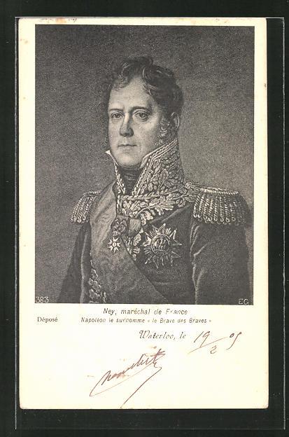 AK Mey, Maréchal de France, Brave des Braves